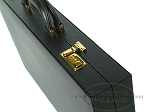 picture of Zaza & Sacci® Leather/Microfiber Backgammon Set - Model ZS-760 - Large - Black (10 of 12)