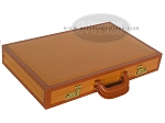 picture of Zaza & Sacci Leather Backgammon Set - Model ZS-888 - Large - Brown (11 of 12)