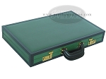 picture of Zaza & Sacci® Leather Backgammon Set - Model ZS-888 - Large - Green (11 of 12)