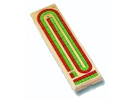 Double Track Cribbage - Item: 1126