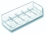 Acrylic Tray with Cover - Item: 1140