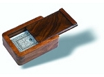 Wooden Single Deck Card Case - Item: 1146