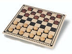 Wood Checkers Set - Item: 1160