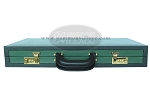 picture of Zaza & Sacci® Leather Backgammon Set - Model ZS-888 - Large - Green (12 of 12)