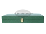 picture of Zaza & Sacci® Leather/Microfiber Backgammon Set - Model ZS-425 - Green (12 of 12)