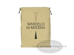 picture of Marcello de Modena Leather Backgammon Set - Model MM-621 - Large - Croco Black (12 of 12)