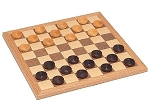 Walnut Checkers Set - Item: 1311