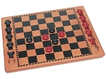 Solid Wood Checkers Set - Item: 1312