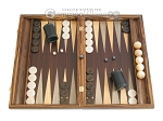 picture of Zebrano Backgammon Set with Racks (1 of 12)
