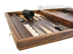 picture of Zebrano Backgammon Set with Racks (5 of 12)
