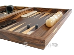 picture of Zebrano Backgammon Set with Racks (6 of 12)