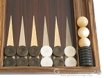 picture of Zebrano Backgammon Set with Racks (8 of 12)