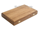 Zebrano Backgammon Set with Racks - Item: 2286