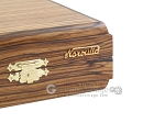 picture of Zebrano Backgammon Set with Racks (12 of 12)