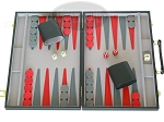 picture of 15-inch Backgammon Set - Black (1 of 9)