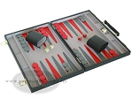 picture of 15-inch Backgammon Set - Black (2 of 9)