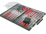 picture of 15-inch Backgammon Set - Black (3 of 9)