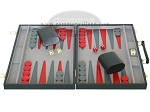 picture of 15-inch Backgammon Set - Black (4 of 9)