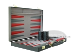 picture of 15-inch Backgammon Set - Black (5 of 9)