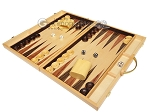 picture of 18-inch Wood Backgammon Set - Burlwood (3 of 11)