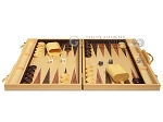 picture of 18-inch Wood Backgammon Set - Burlwood (4 of 11)