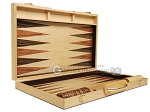picture of 18-inch Wood Backgammon Set - Burlwood (10 of 11)
