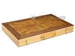 picture of 18-inch Wood Backgammon Set - Burlwood (11 of 11)