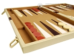 picture of 18-inch Deluxe Backgammon Set - Camel (5 of 11)