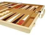 picture of 18-inch Deluxe Backgammon Set - Camel (6 of 11)