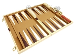 picture of 18-inch Deluxe Backgammon Set - Camel (9 of 11)