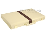 picture of 18-inch Deluxe Backgammon Set - Camel (11 of 11)