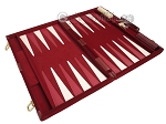 picture of 18-inch Deluxe Backgammon Set - Maroon (9 of 11)