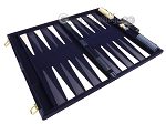 picture of 15-inch Deluxe Backgammon Set - Blue (9 of 11)