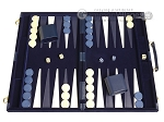picture of 18-inch Deluxe Backgammon Set - Blue (1 of 11)