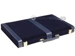 picture of 18-inch Deluxe Backgammon Set - Blue (11 of 11)