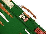 picture of 15-inch Deluxe Backgammon Set - Green (7 of 11)