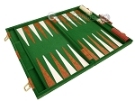 picture of 18-inch Deluxe Backgammon Set - Green (9 of 11)