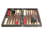 picture of Palisander Backgammon Set with Colored Inlays (4 of 12)