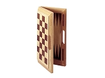 picture of 16in. Oak 3-in-1 Game Set (3 of 3)