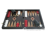 picture of Palisander Backgammon Set with Double Inlays (4 of 12)