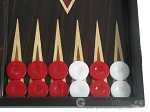picture of Palisander Backgammon Set with Double Inlays (8 of 12)