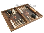picture of Zebrano-Leather Backgammon Set with Racks (2 of 12)