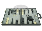 picture of 18-inch Deluxe Backgammon Set - Black (4 of 9)