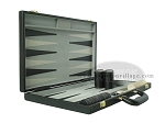 picture of 18-inch Deluxe Backgammon Set - Black (5 of 9)