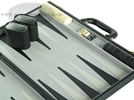 picture of 18-inch Deluxe Backgammon Set - Black (6 of 9)