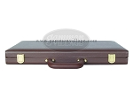 picture of 18-inch Deluxe Backgammon Set - Brown (9 of 9)