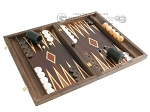 picture of Kelempeki-Leather Backgammon Set with Racks (2 of 12)