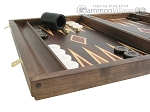 picture of Kelempeki-Leather Backgammon Set with Racks (5 of 12)