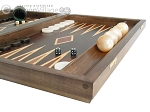 picture of Kelempeki-Leather Backgammon Set with Racks (6 of 12)
