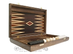 picture of Kelempeki-Leather Backgammon Set with Racks (7 of 12)